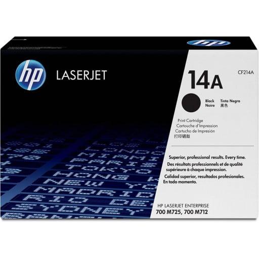HP CF214A 14A Black Original LaserJet Toner Cartridge