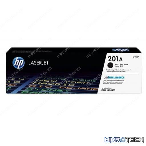 HP CF400A 201A Black Original LaserJet Toner Cartridge