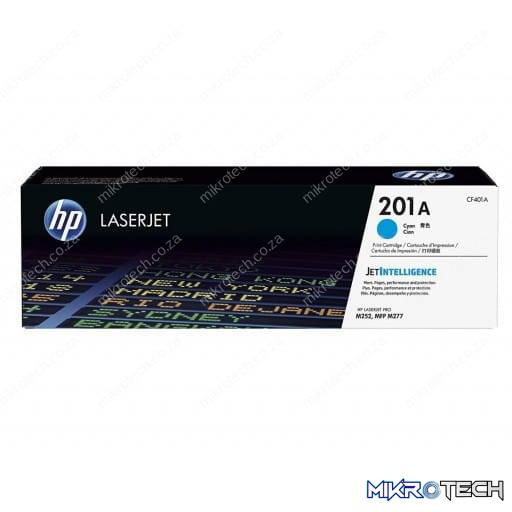 HP CF401A 201A Cyan Original LaserJet Toner Cartridge