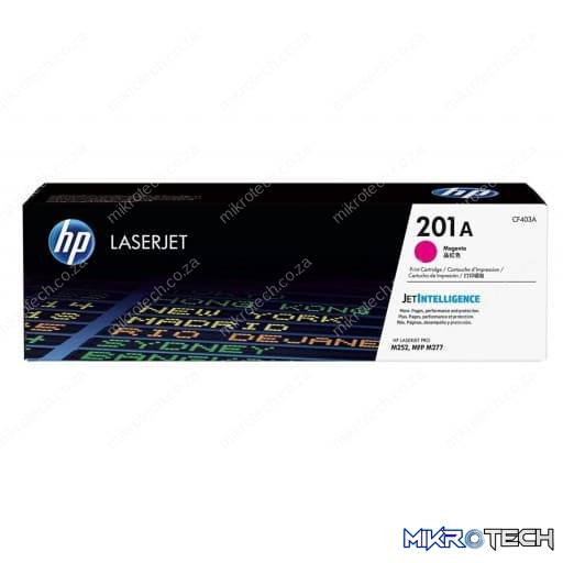 HP CF403A 201A Magenta Original LaserJet Toner Cartridge