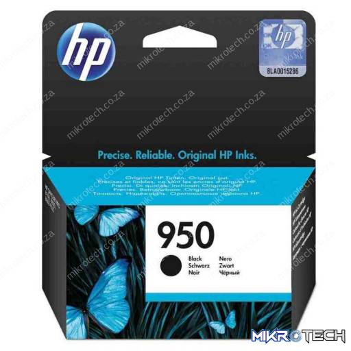 HP CN049AE ( no.950 ) Black ink , 1000pages - for hp business officejet pro 8100 series , 8600 series, 251DW, 276DW