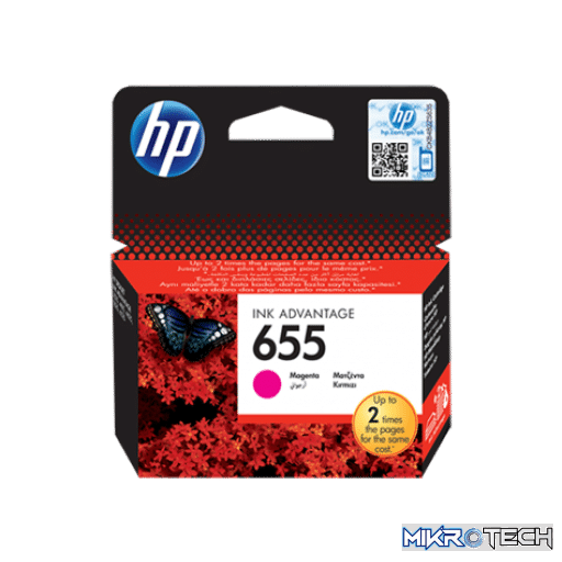 HP CZ111AE No. 655 Magenta Original Ink Cartridge