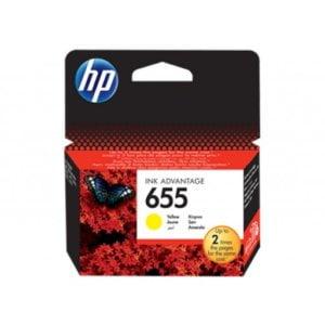 HP CZ112AE No. 655 Yellow Original Ink Cartridge