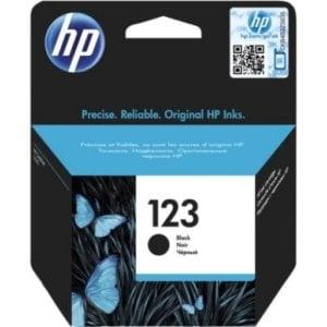 HP F6V17AE 123 Black Original Inkjet Cartridge