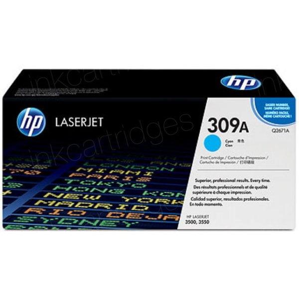 HP Q2671A Cyan Toner, 4000pages