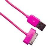 IPAD/IPHONE/IPAD SYNC+CHARGE CABLE PINK