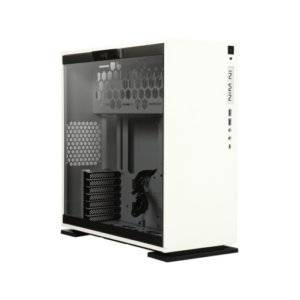 In-Win 303C Tempered Glass White ATX Mid Tower Desktop Chassis
