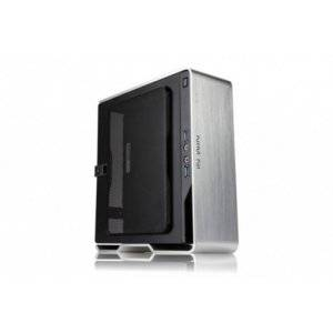 In-Win Chopin Brushed Aluminium 150W PSU Silver Mini-ITX Desktop Chassis