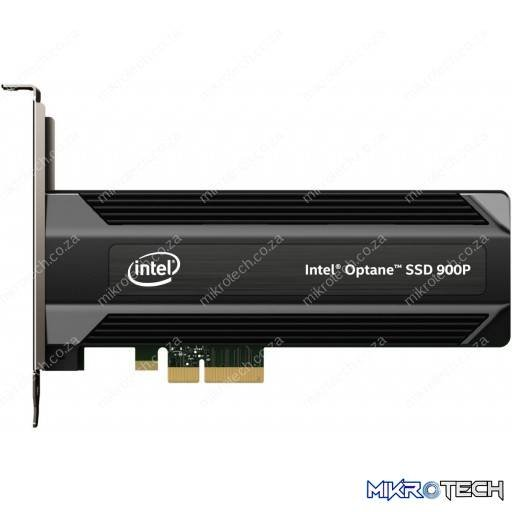 Intel SSDPED1D480GAX1 Optane 900P 480GB PCIe NVMe 3.0 Solid State Drive