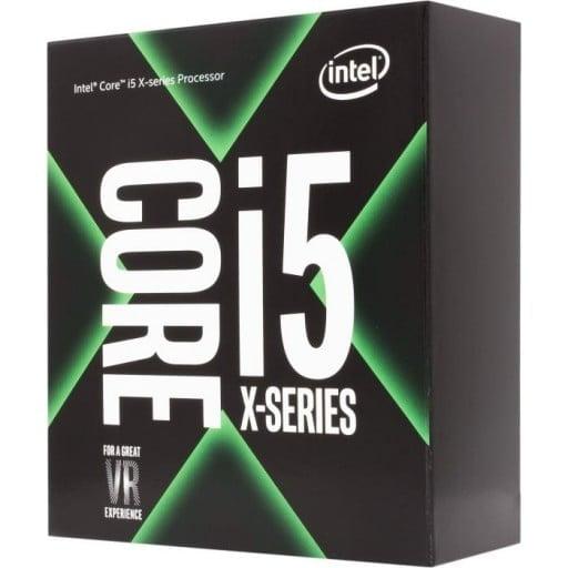 Intel i5-7640X 4.0GHz Quad Core Unlocked 14nm Kaby Lake-X Socket LGA2066 Desktop CPU - Cooler Not Included