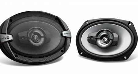 "JVC CS-DR693 15 x 23cm (6"" x 9"") 3-Way Coaxial Speakers"