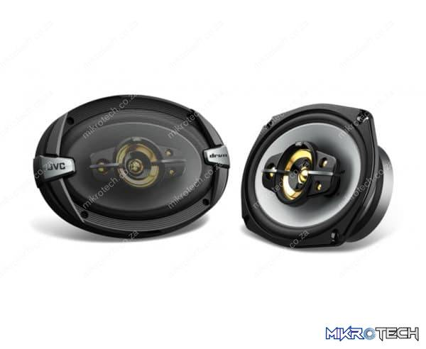 "JVC CS-DR695HP 800W 6x9"" 5-Way Speakers"