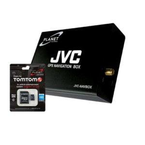 JVC GPS Navigation Box