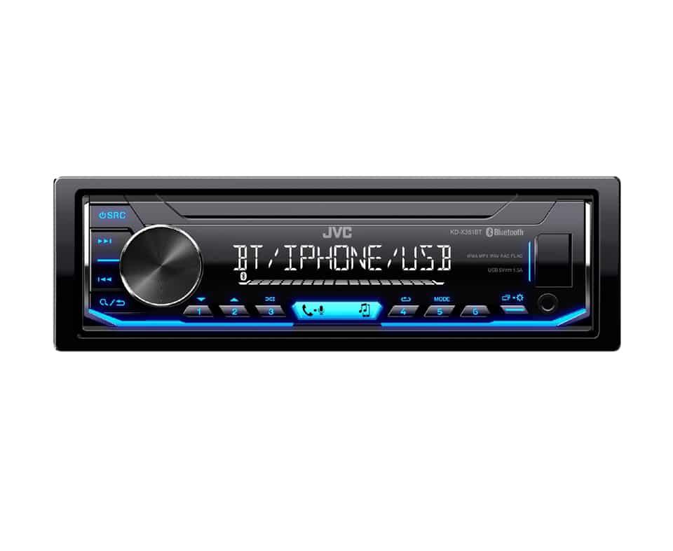 JVC KD-X351BT Bluetooth/Usb/Aux Digital Media Receiver