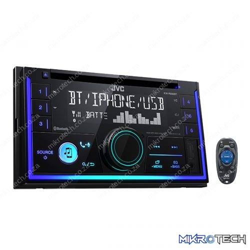 JVC KW-R930BT DOUBLE-DIN BLUETOOTH CD/USB RECEIVER