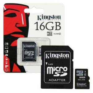 KINGSTON 16GB MICRO SD