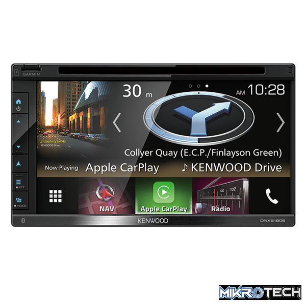 "Kenwood DNX5180SM 6.8""HD Capacitive Touch Screen AV Receiver"