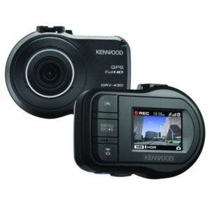 Kenwood GPS Integrated Dashboard Camera with Advanced Driver Assistance Systems Built-in