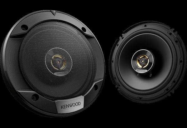 Kenwood KFC-S1676EX STAGE SOUND SERIES, 16cm Flush Mount 3-way 3-Speaker System