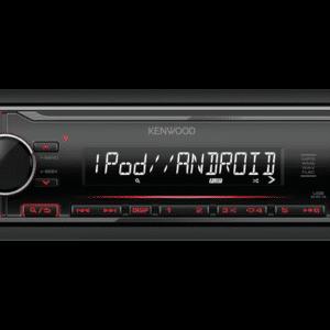 Kenwood KMM-204 Digital Media Receiver with Front USB & AUX Input