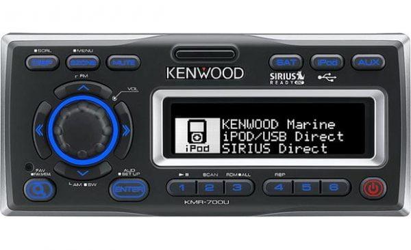 Kenwood KMR-700U Marine receiver with iPod docking station