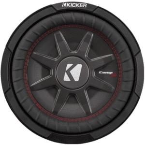 """Kicker 43CWRT122 12""""dual 2-ohm voice coil component subwoofer"""