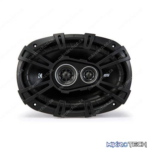 "Kicker 43DSC69304 D-Series 6×9"" 360 Watt 3-Way Car Audio Coaxial Speakers"