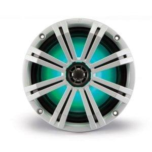 Kicker 43KM84LCW 8? Full-range marine speakers with LED lighting