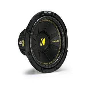 "Kicker 44CWCS104 CompC Series 10"" 4 Ohm Subwoofer"