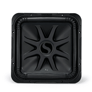 """Kicker 44L7S124 Solo-Baric L7S Series 12""""subwoofer with dual 4-ohm voice coils"""