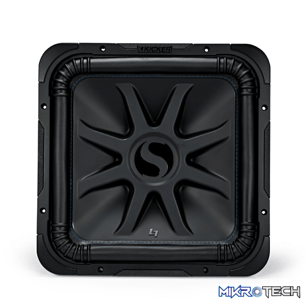 "Kicker 44L7S154 Solo-Baric L7S Series 15""subwoofer with dual 4-ohm voice coils"