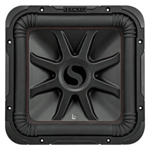"""Kicker 45L7R104 L7R Series 10""""subwoofer with dual 4-ohm voice coils"""