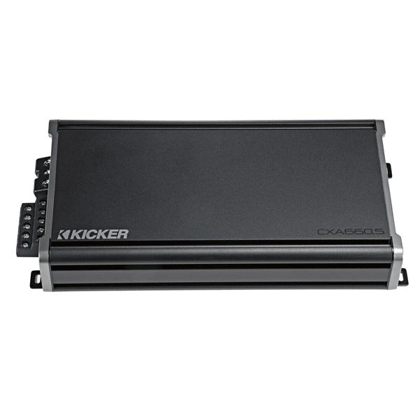 Kicker 46CXA6605 Car Audio 5 Channel Amp Speaker & Sub 1200W Amplifier