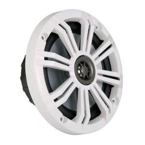 Kicker 6-Inch Marine Coaxial Speakers Grille/LED