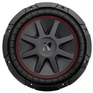 """Kicker CompVR 43CVR104 10""""subwoofer with dual 4-ohm voice coils"""