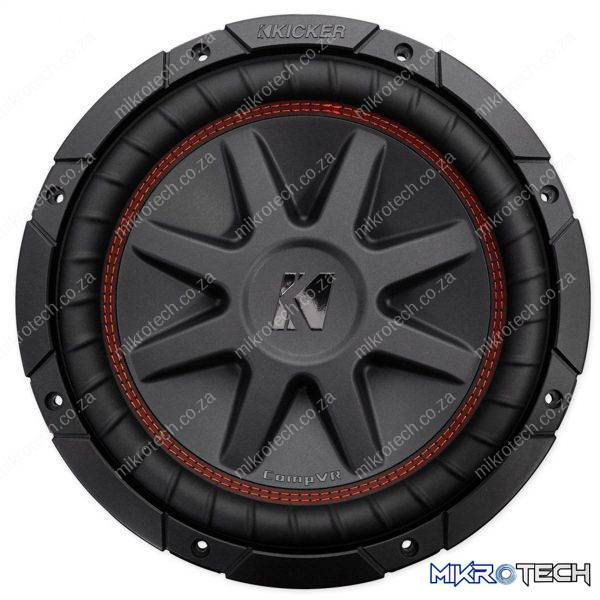 "Kicker CompVR 43CVR104 10"" Subwoofer with dual 4-ohm voice coils"
