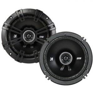 Kicker DSC504 5.25-Inch (130mm) Coaxial Speakers with 1/2-inch (13mm) Tweeters
