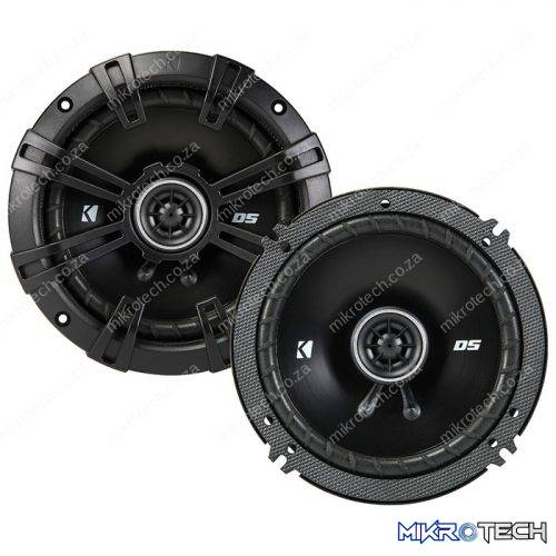 Kicker DSC504 5.25-Inch (130mm) Coaxial Speakers with 1/2-inch (13mm) Tweeters, 4-Ohm