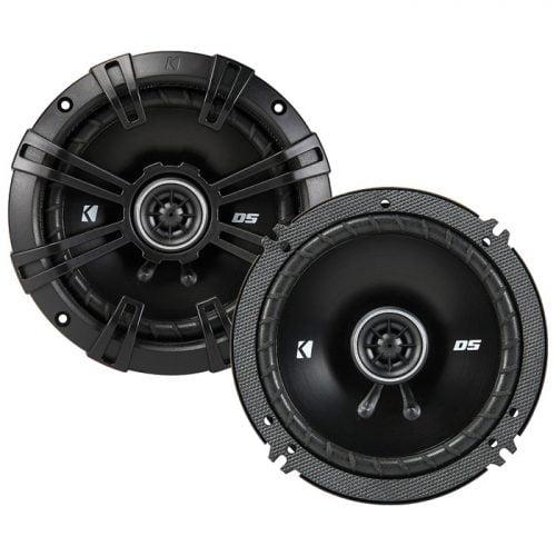 Kicker DSC504 5.25-Inch (130mm) Coaxial Speakers with 1/2-inch (13mm) Tweeters, 4-Ohm
