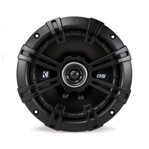 Kicker DSC6504 6.5-Inch Coaxial Speakers with 1/2-inch (13mm) Tweeters, 4-Ohm