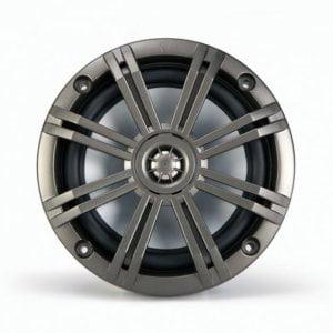 Kicker KM65 6.5-Inch (160mm) Marine Coaxial Speakers with 3/4-inch (20mm) Tweeters