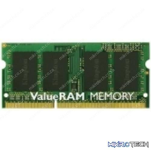 Kingston KVR1333D3S9/2G / KVR1333D3S8S9/2G 2GB DDR3-1333 Laptop Memory - Retail