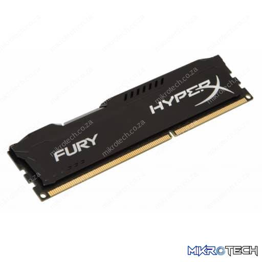 Kingston HX316C10FB/8 Hyper-X Black 8GB 1600MHz DDR3 CL10 240pin 1.5v Desktop Memory