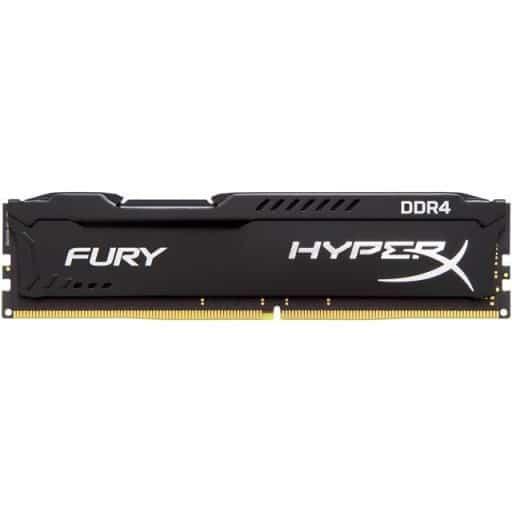 Kingston HyperX Fury 8GB (1x8GB) 3466MHz DDR4 CL19 1.2V Black Desktop Memory