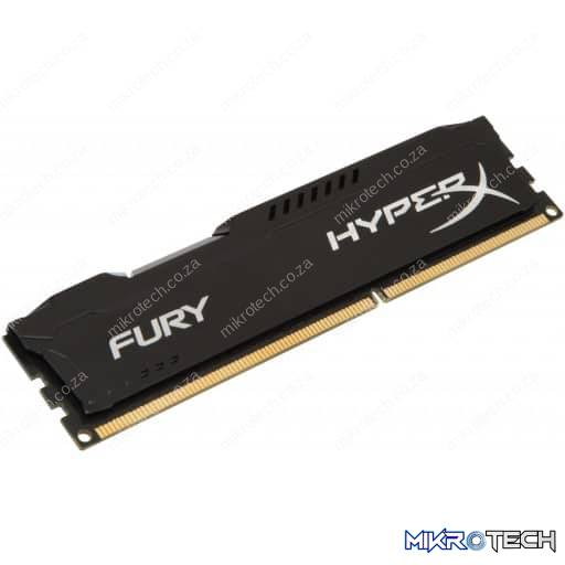 Kingston HyperX Fury 8GB (1x8GB) DDR4-2400MHz CL15 1.2V Black Desktop Memory