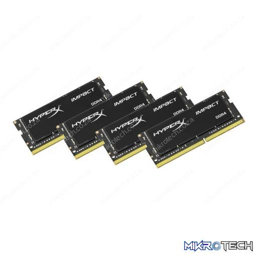 Kingston HyperX Impact 32GB (4x8GB) DDR4-2133MHz CL14 1.2V 260-Pin Black Notebook Memory