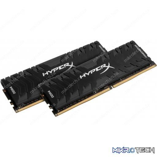 Kingston HyperX Predator 16GB (2x8GB) DDR4-2666MHz CL13 1.35V Black Desktop Memory