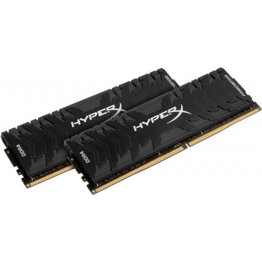Kingston HX432C16PB3K2/16 HyperX Predator 16GB (2x8GB) DDR4-3200MHz CL16 1.35V Black Desktop Memory
