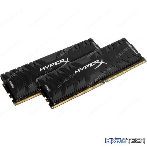 Kingston HyperX Predator 16GB (2x8GB) DDR4-4000MHz CL19 1.35V Black Desktop Memory