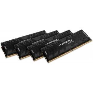 Kingston HX436C17PB3K4/64 HyperX Predator 64GB (4x16GB) DDR4-3600MHz CL17 1.35V Black Desktop Memory
